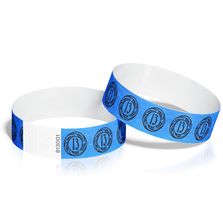 Wristbands for Events - 13th Birthday Theme