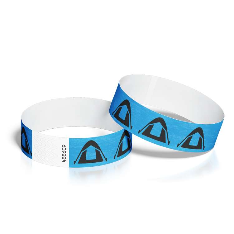 Wristbands for Events with Camping Design