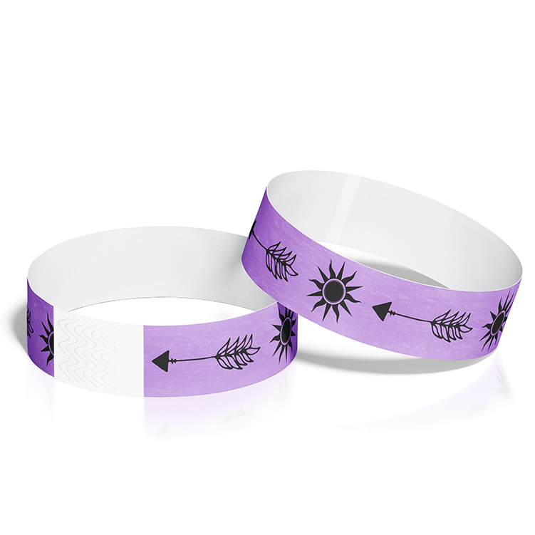Festival Wristbands with Feather Arrow Theme