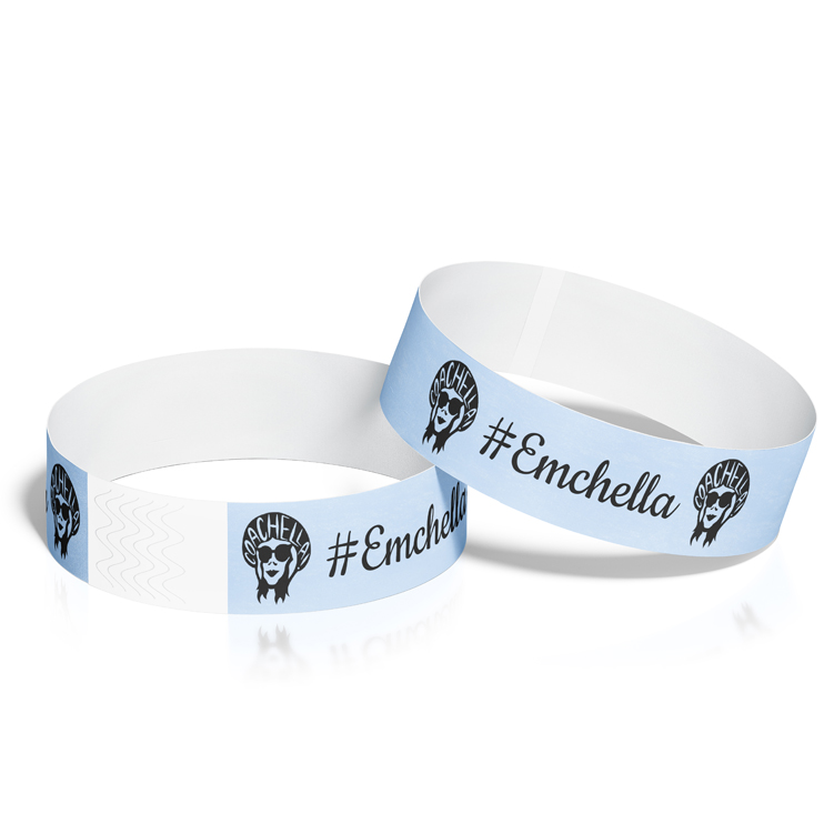 Custom Coachella Festival Wristbands