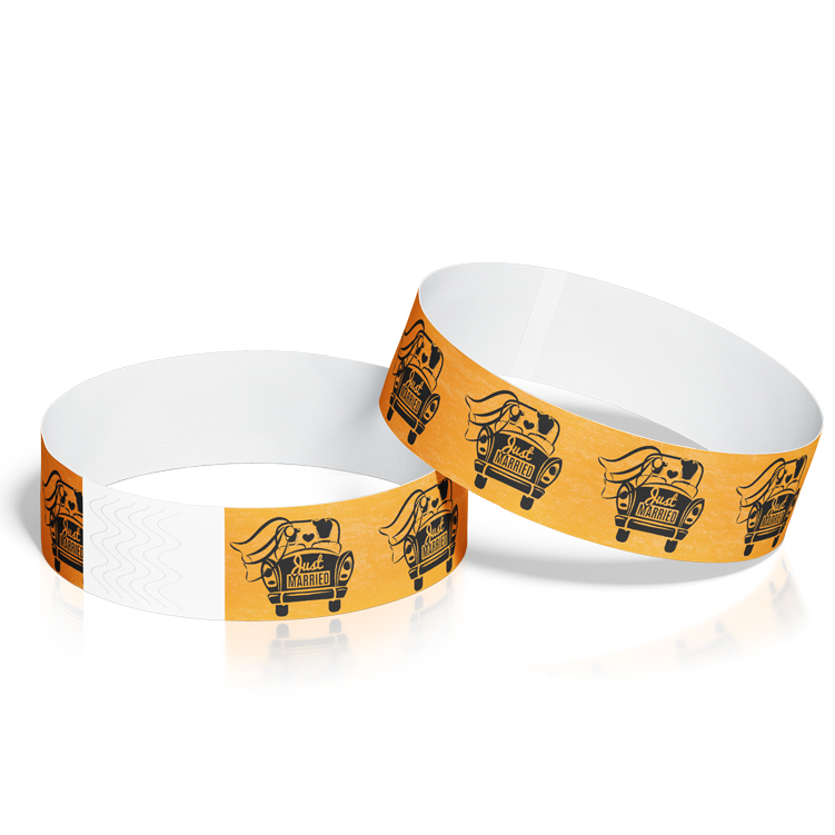 Custom Wristbands for Wedding Events