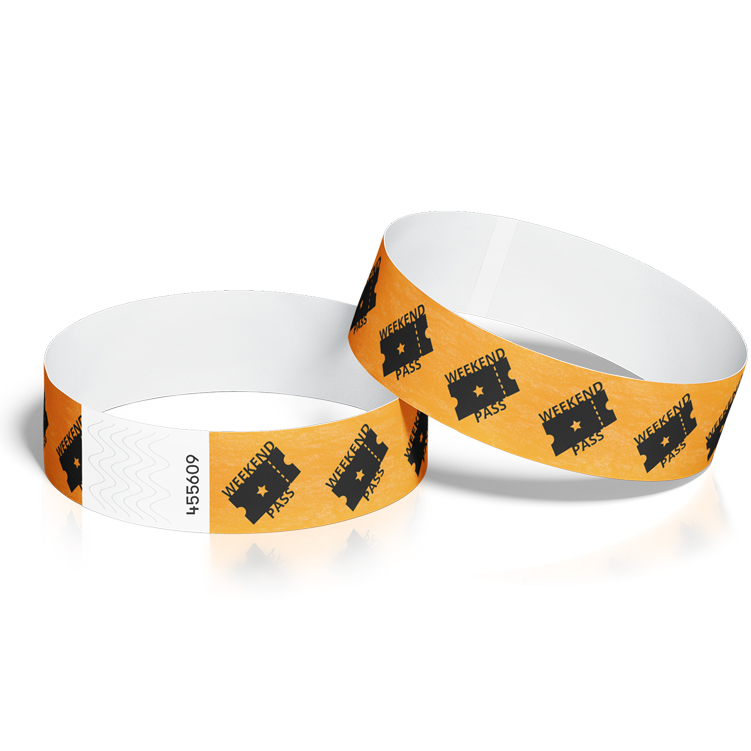 Wristbands for Events with Weekend Pass Design