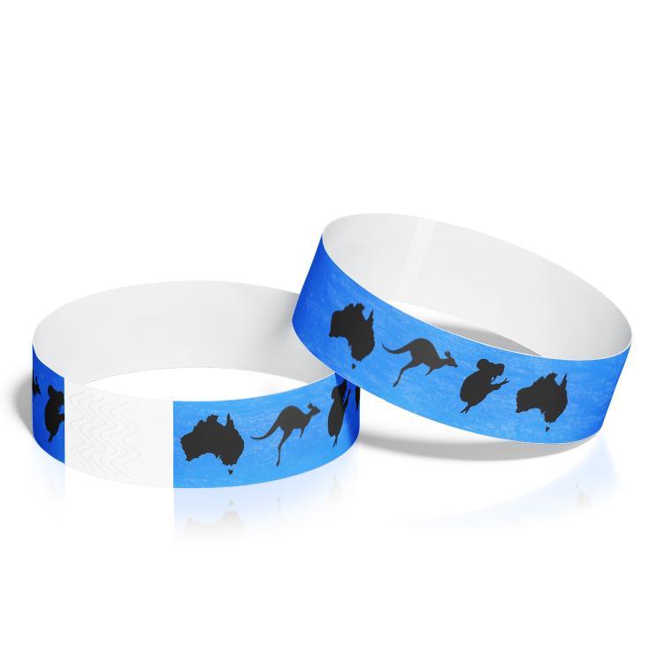 Custom Wristbands with Australia Theme