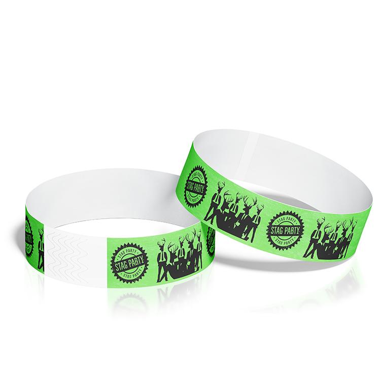 Custom Wristbands with Bucks Party Theme