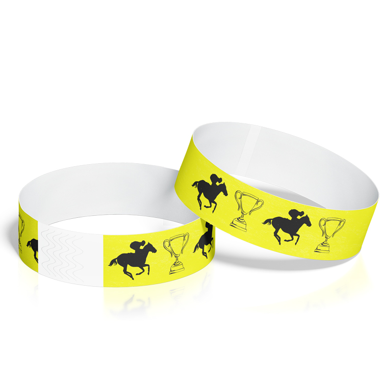 Custom Wristbands for Horse Racing Events