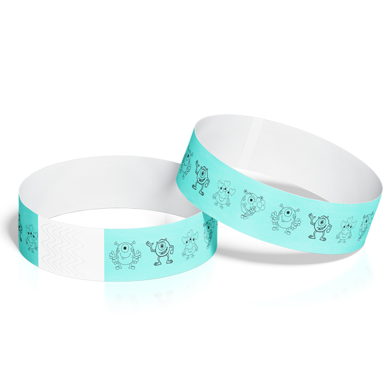 Birthday Event Wristbands with Monsters Theme