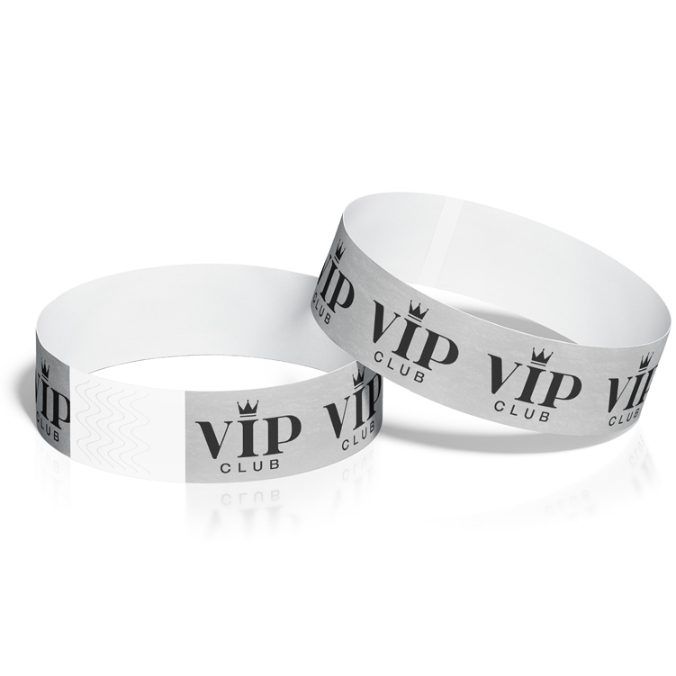 Wristbands with VIP Crown Design